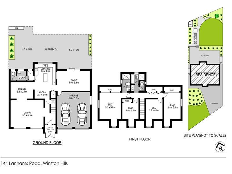 144 Lanhams Road, Winston Hills, NSW 2153 - floorplan