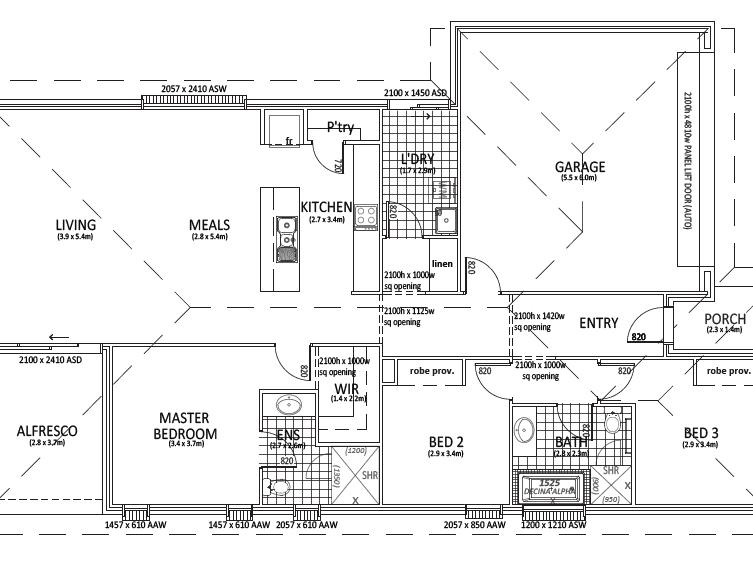 Lot 535 Aston Hills, Mount Barker, SA 5251 - floorplan