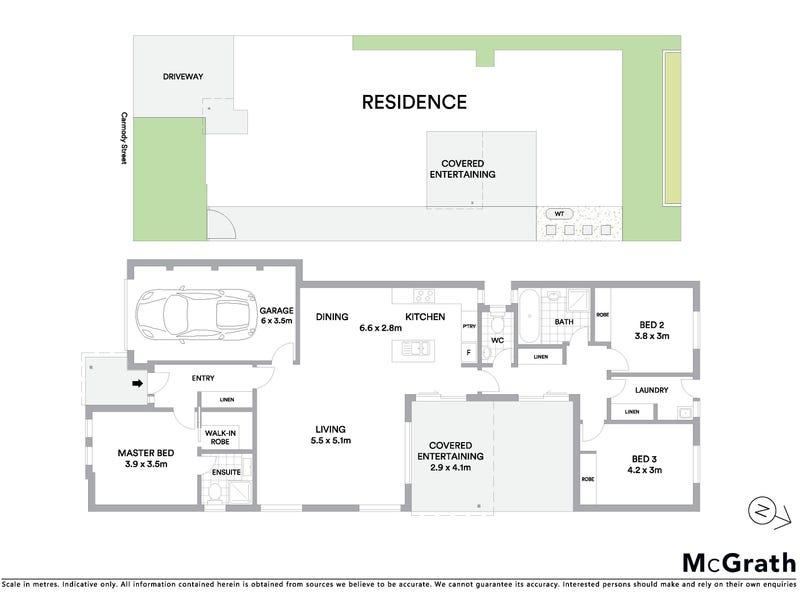 6 Carmody Street, Casey, ACT 2913 - floorplan
