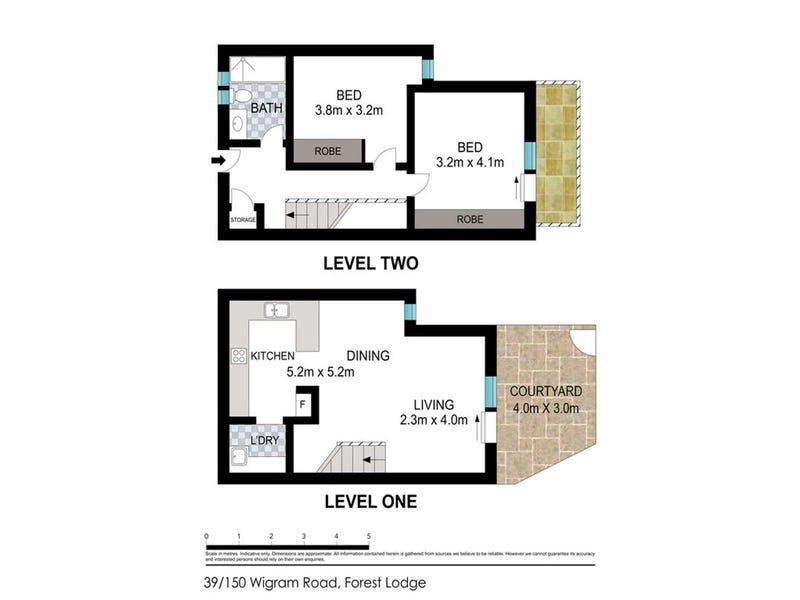 39/150 Wigram Road, Glebe, NSW 2037 - floorplan