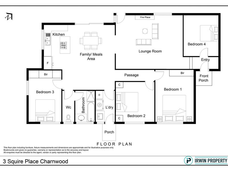 3 Squire Place, Charnwood, ACT 2615 - floorplan