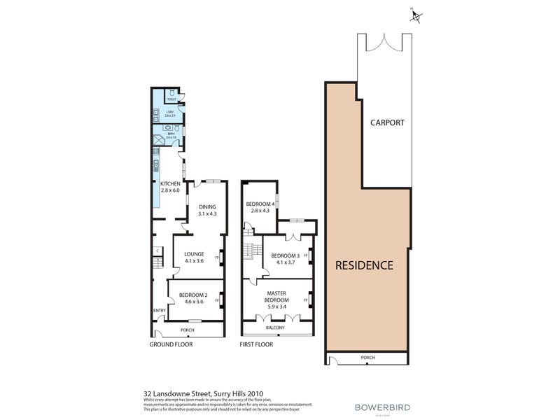 32 Lansdowne Street, Surry Hills, NSW 2010 - floorplan