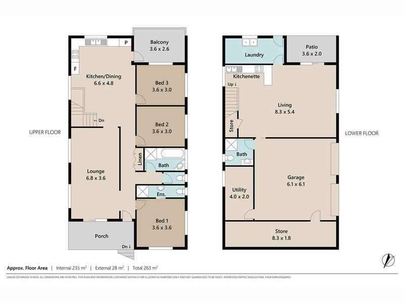 34 Campbell Street, Paddington, Qld 4064 - floorplan