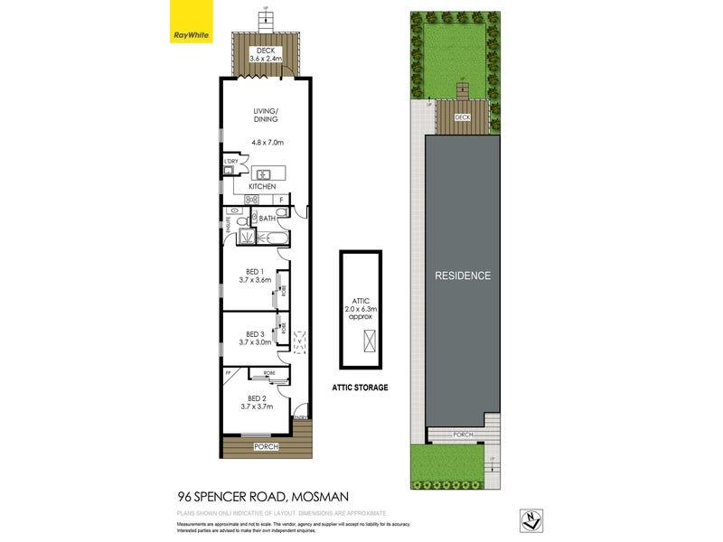 96 Spencer Road, Mosman, NSW 2088 - floorplan