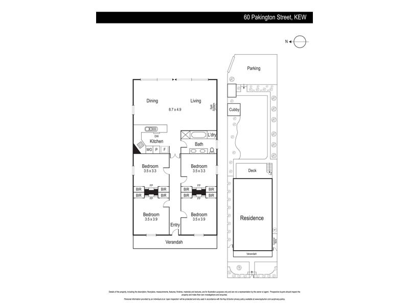 60 Pakington Street, Kew, Vic 3101 - floorplan