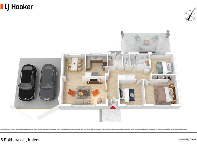 25 Bokhara Circuit, Kaleen, ACT 2617 - floorplan