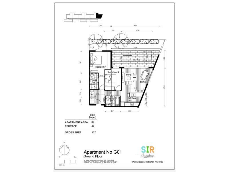 1/979 Heidelberg Road, Ivanhoe, Vic 3079 - floorplan