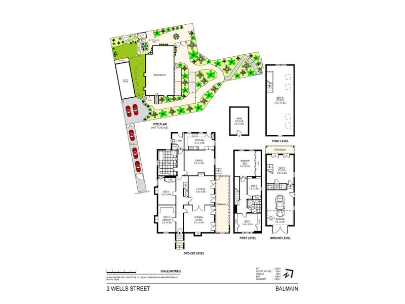 2 Wells Street, Balmain, NSW 2041 - floorplan