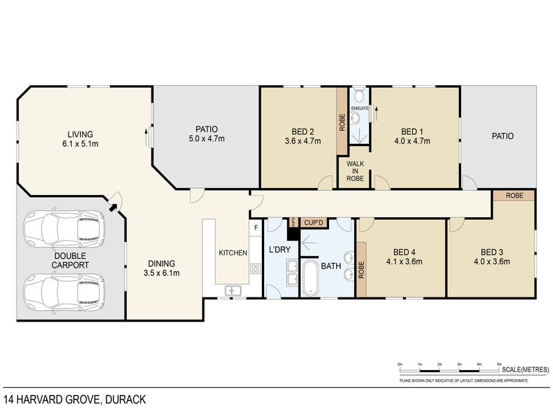 14 Harvard Grove, Durack, NT 0830 - floorplan