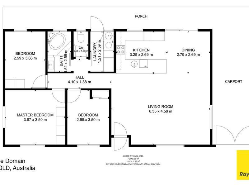 84 The Domain, Nerang, Qld 4211 - floorplan