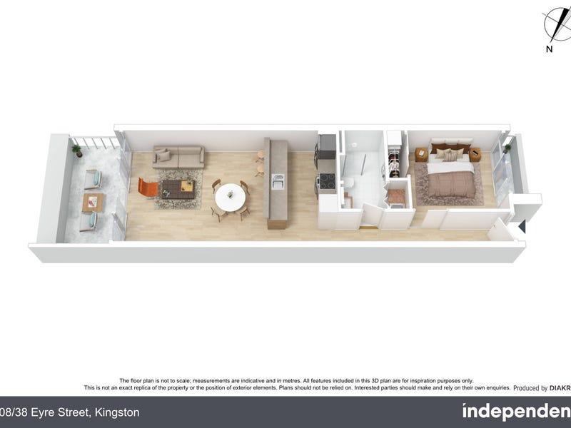 208/38 Eyre Street, Kingston, ACT 2604 - floorplan