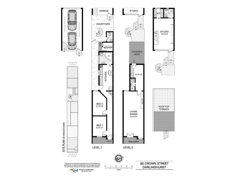 93-95 Crown Street, Darlinghurst, NSW 2010 - floorplan