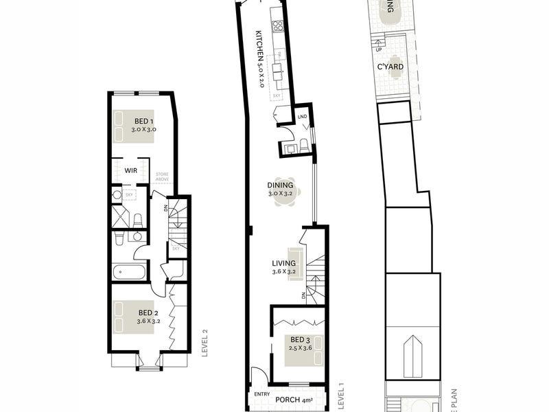 119 Beattie Street, Balmain, NSW 2041 - floorplan