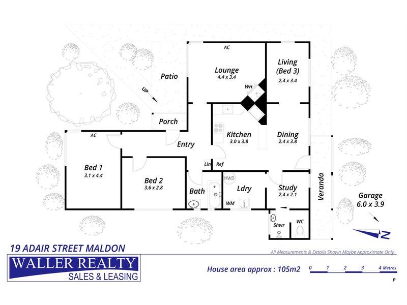19 Adair Street, Maldon, Vic 3463 - floorplan