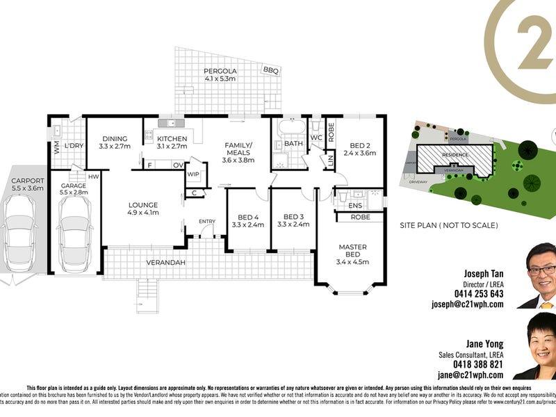 1 Gum Grove Place, West Pennant Hills, NSW 2125 - floorplan