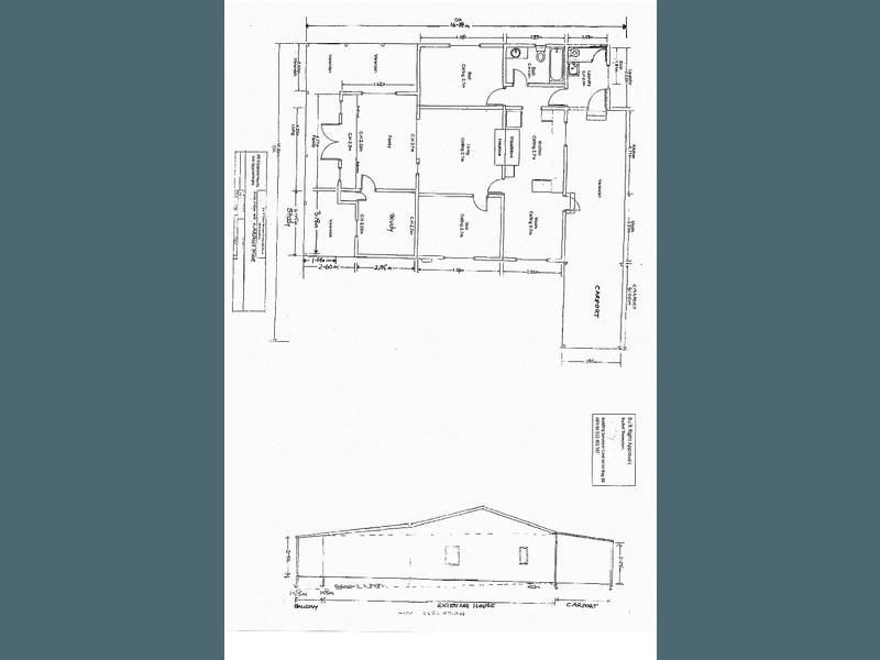 284 Greenbushes - Grimwade Road, North Greenbushes, WA 6254 - floorplan