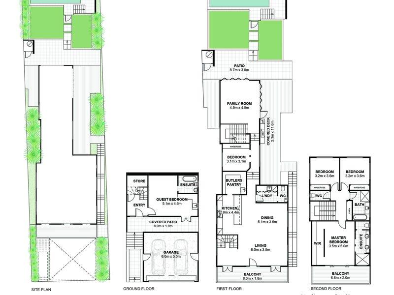 64 Alma Street, Paddington, Qld 4064 - floorplan