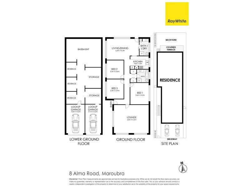 8 Alma Road, Maroubra, NSW 2035 - floorplan