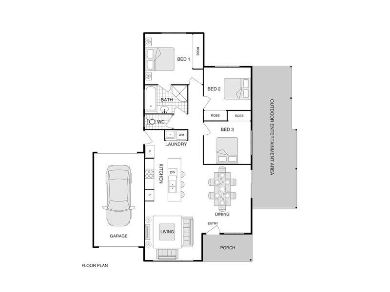 2/6 Eaglemont Retreat, Conder, ACT 2906 - floorplan