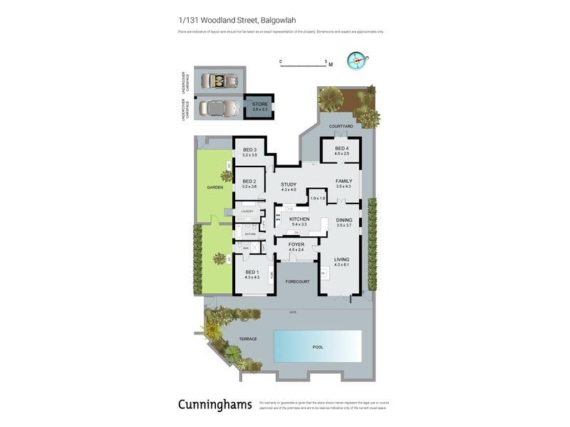 1/131 Woodland Street, Balgowlah, NSW 2093 - floorplan