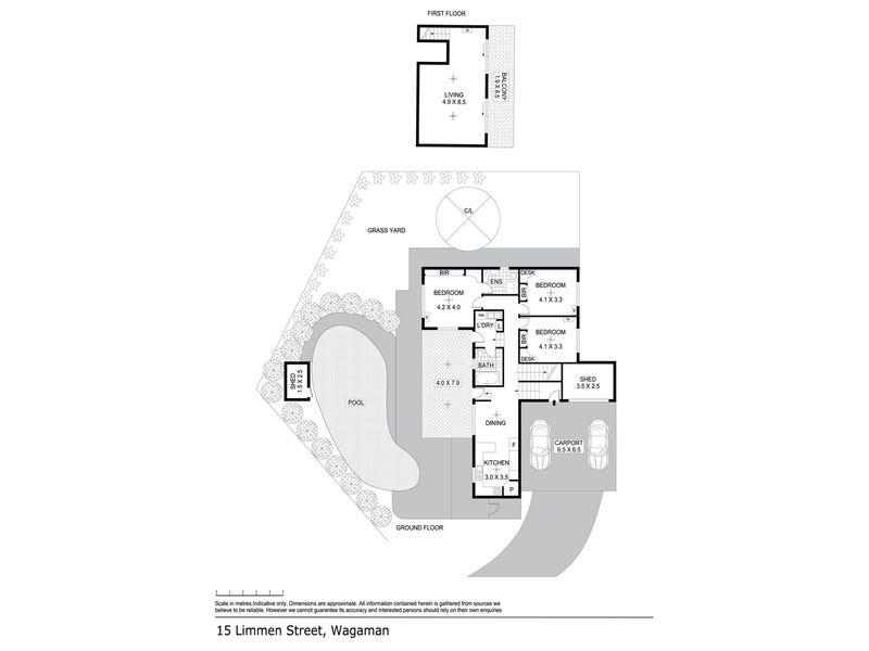 15 Limmen Street, Wagaman, NT 0810 - floorplan