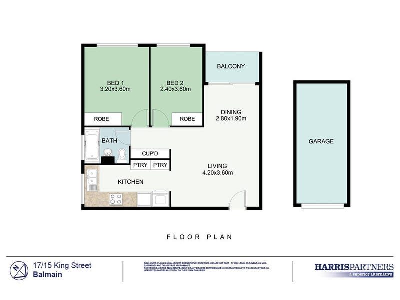 17/15 King Street, Balmain, NSW 2041 - floorplan