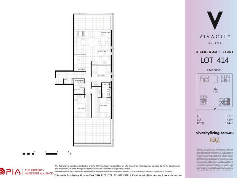 1304/5  Uhrig Road, Lidcombe, NSW 2141 - floorplan