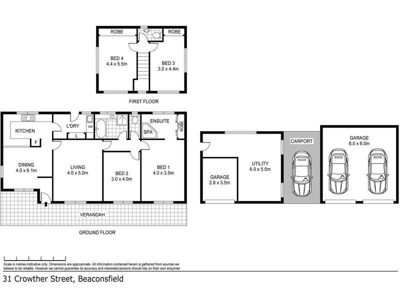 31 Crowther Street, Beaconsfield, Tas 7270 - floorplan