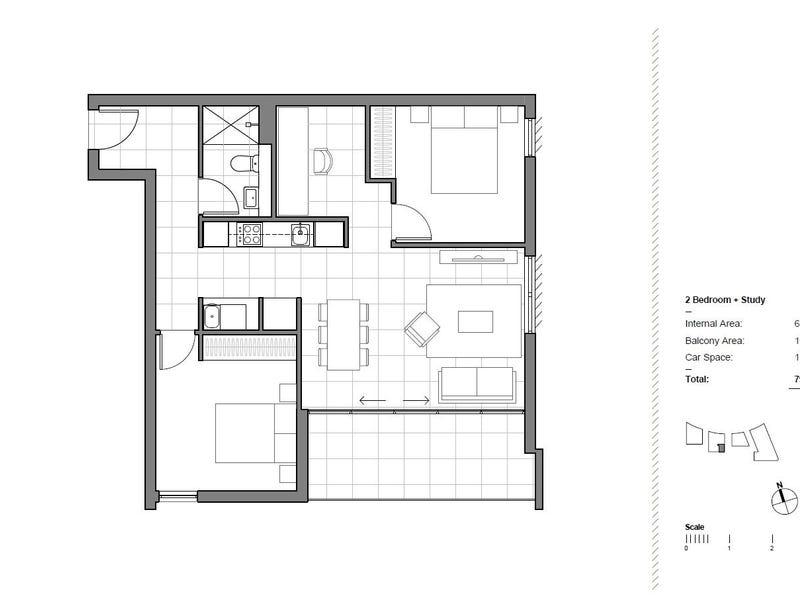 605/2F Wentworth Park Road, Glebe, NSW 2037 - floorplan