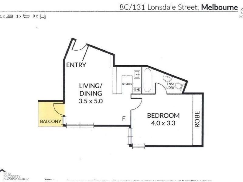 8C/131 Lonsdale Street, Melbourne, Vic 3000 - floorplan