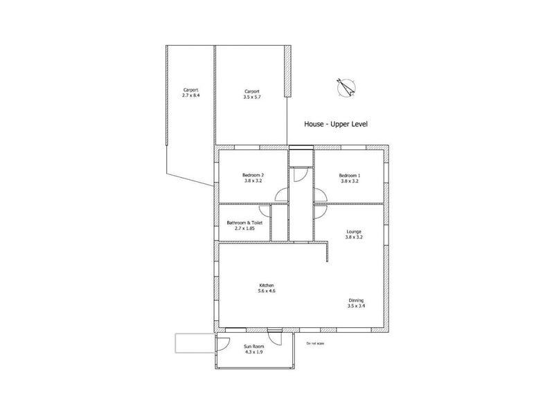 51 and 51A Karoola Road, Lindisfarne, Tas 7015 - floorplan