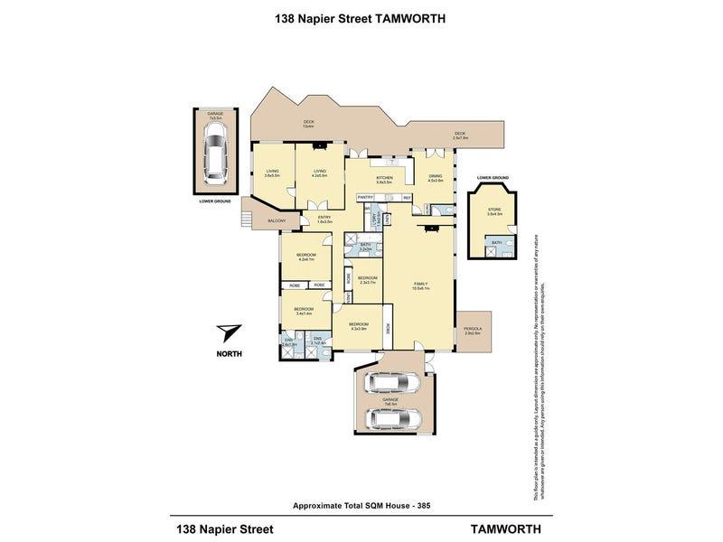 138 Napier Street, Tamworth, NSW 2340 - floorplan