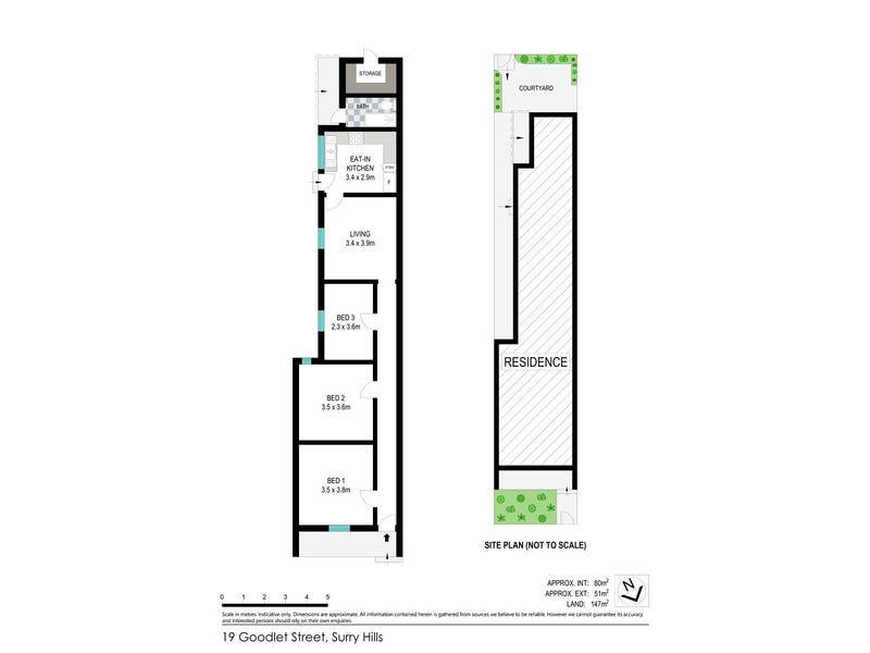 19 Goodlet Street, Surry Hills, NSW 2010 - floorplan