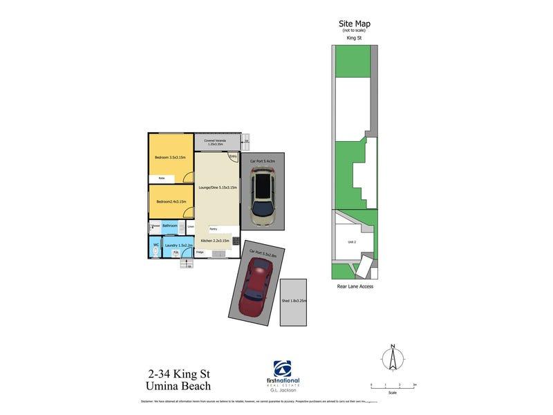 2/34 King Street, Umina Beach, NSW 2257 - floorplan