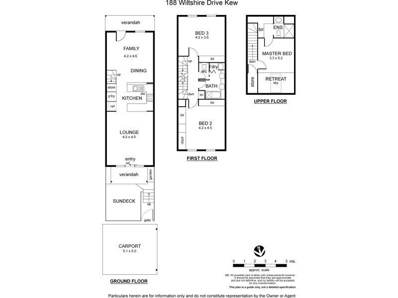 188 Wiltshire Drive, Kew, Vic 3101 - floorplan