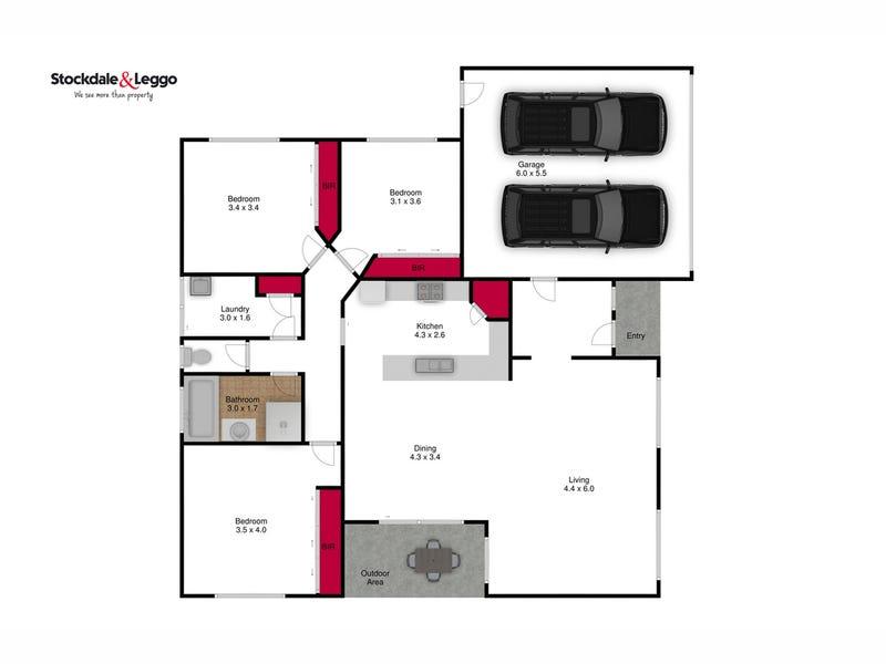 12/2 Wallace Street, Morwell, Vic 3840 - floorplan