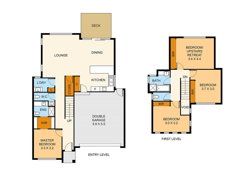 24 Parrs Road, Croydon, Vic 3136 - floorplan