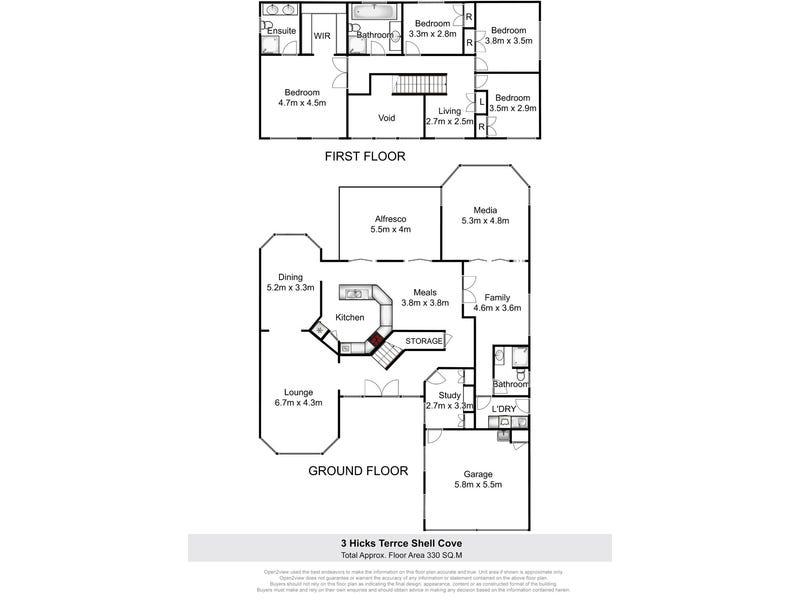 3 Hicks Terrace, Shell Cove, NSW 2529 - floorplan