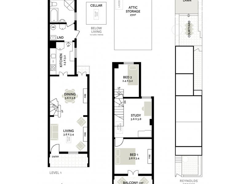 60 Reynolds Street, Balmain, NSW 2041 - floorplan