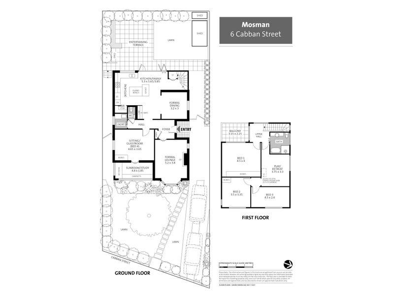 6 Cabban Street, Mosman, NSW 2088 - floorplan