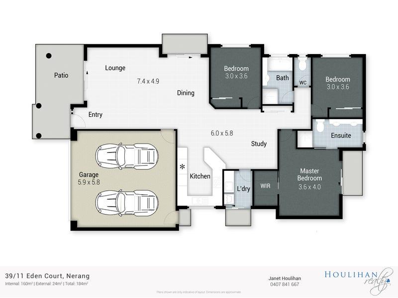 39/11 Eden Ct, Nerang, Qld 4211 - floorplan