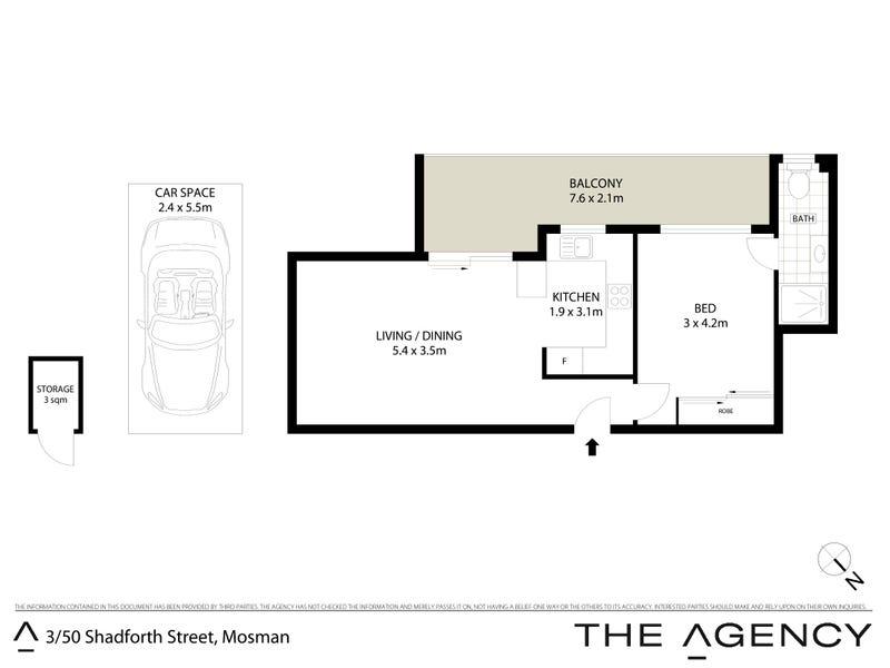 3/50 Shadforth Street, Mosman, NSW 2088 - floorplan
