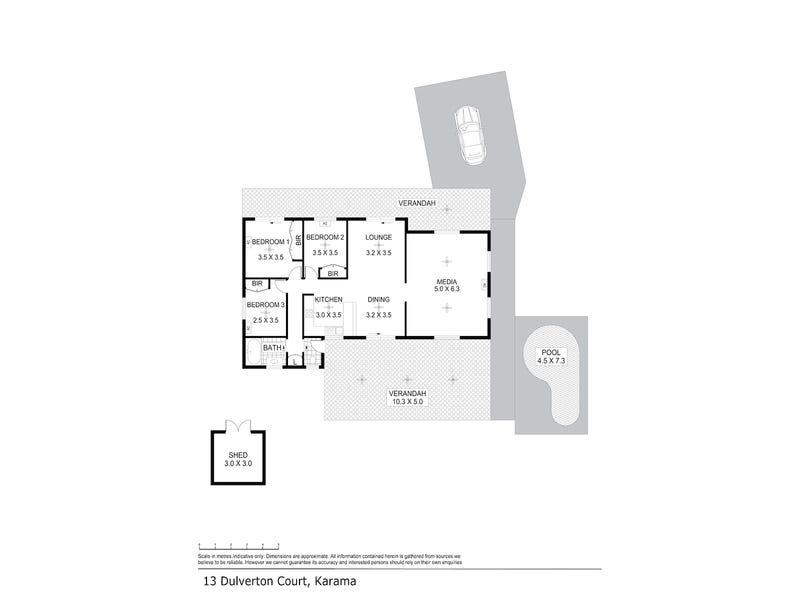 13 Dulverton Court, Karama, NT 0812 - floorplan