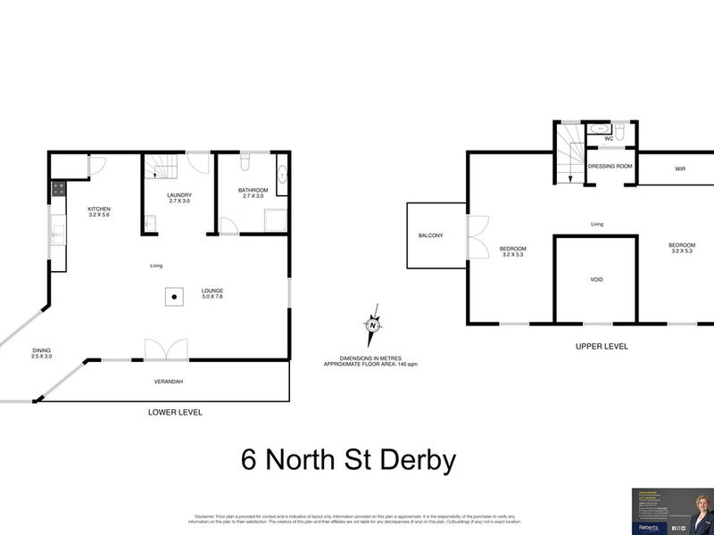 6 North Street, Derby, Tas 7264 - floorplan