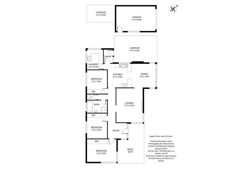 30 West Park Grove, Park Grove, Tas 7320 - floorplan