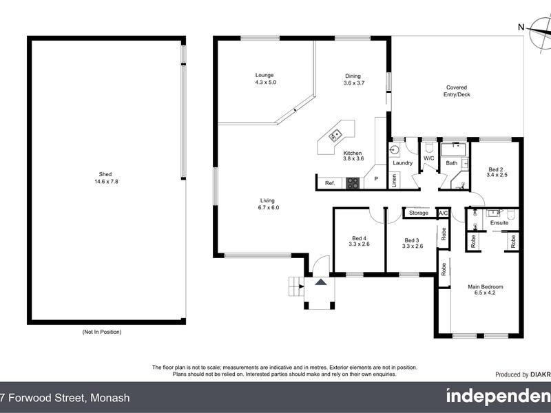 17 Forwood Street, Monash, ACT 2904 - floorplan