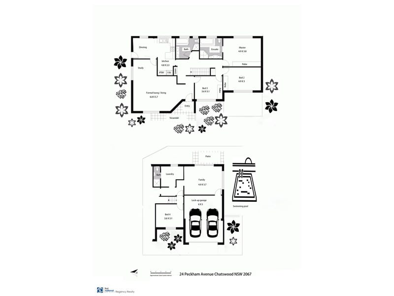 24 Peckham Avenue, Chatswood, NSW 2067 - floorplan