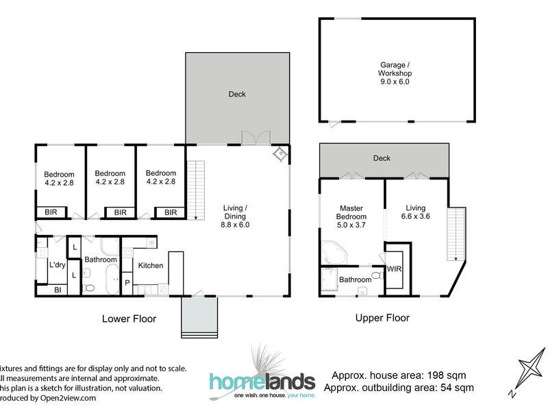 14 Garthfield Avenue, Cygnet, Tas 7112 - floorplan