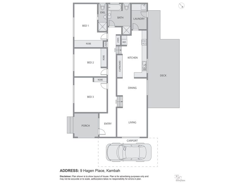 9 Hagen Place, Kambah, ACT 2902 - floorplan