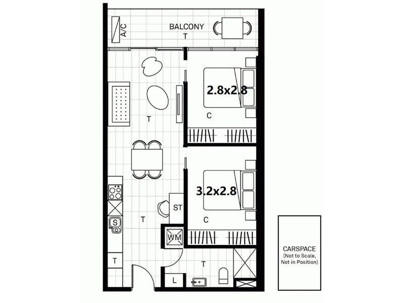 602/15 Clifton Street, Prahran, Vic 3181 - floorplan